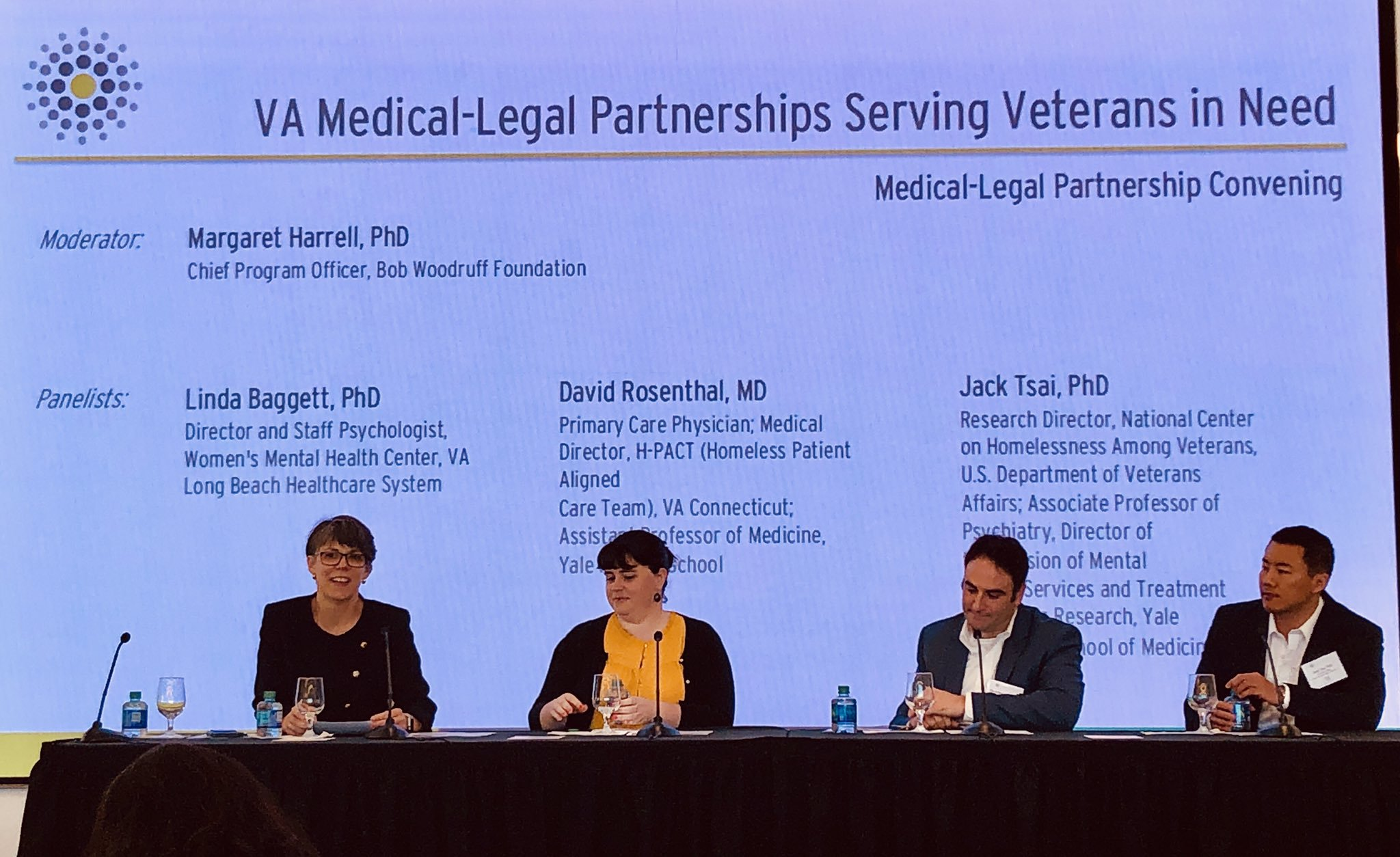 Bob Woodruff Foundation convened MLP meeting + New resources for Veteran-based programs